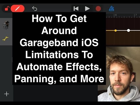 How To Use Automation in Garageband iOS