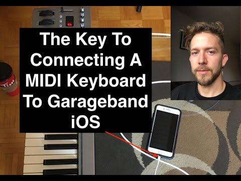 How To Connect MIDI Controller to Garageband iOS