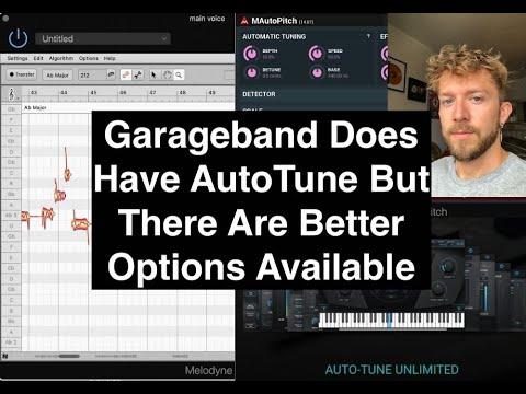 Does Garageband Have Autotune?