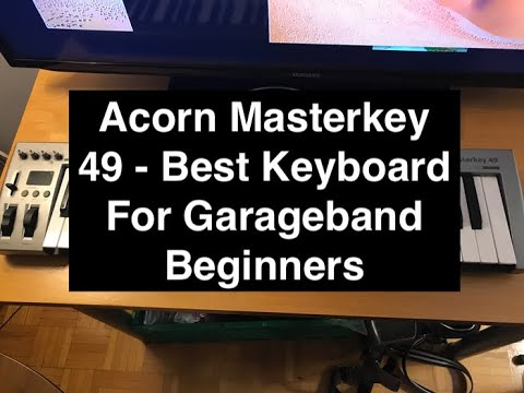 Acorn Masterkey 49 - Best Keyboard For Garageband Beginners