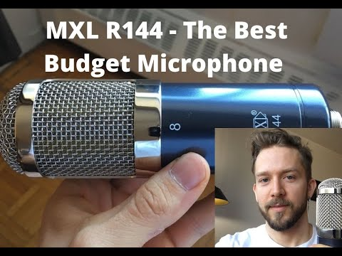 MXL R144 – The Best Budget Ribbon Microphone