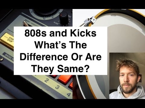 What's The Difference Between an 808 and a Kick?