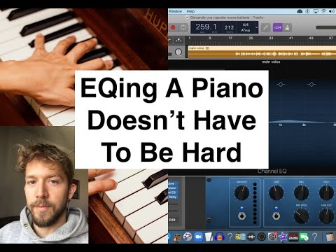 How To EQ A Piano in Garageband