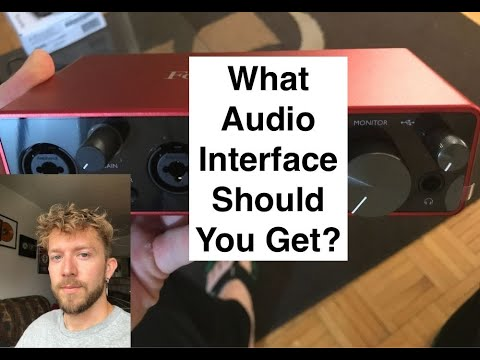 The Best Audio Interface for Beginners
