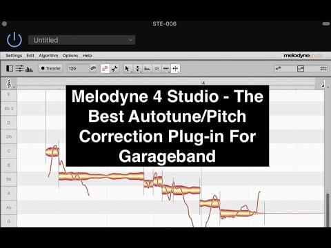 Melodyne 4 - The Best Pitch Correction (Autotune) Plug-In For Garageband