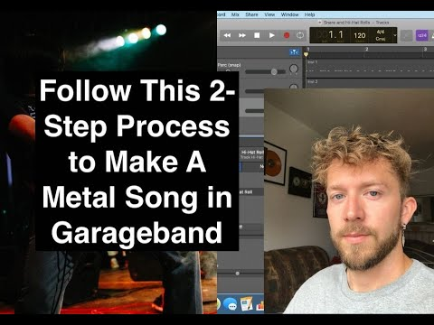 How to Make A Metal Song With Garageband