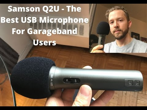 Samson Q2U – The Best USB Microphone For Garageband Users
