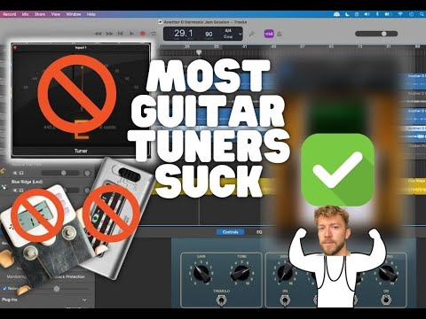 Tuning Your Guitar in a Way That Doesn't Suck...