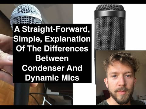 What's The Difference Between A Dynamic And Condenser Microphone