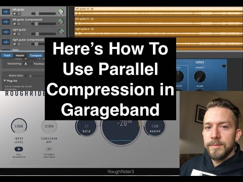 How To Use Parallel Compression in Garaegband