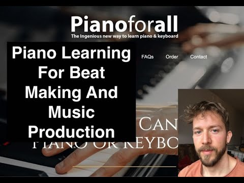 How To Learn Piano For Music Production - The Best Way