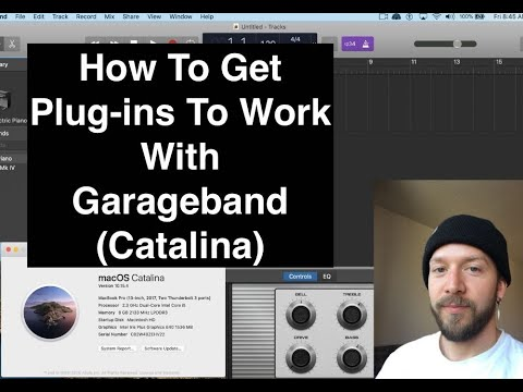 How To Get Plug ins To Work With Garageband (Catalina)