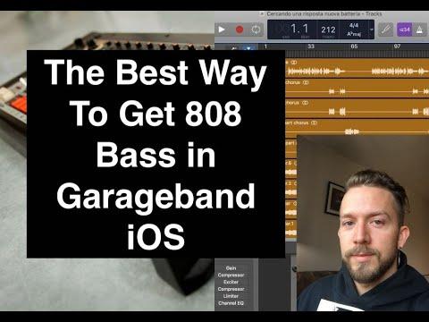 How To Get 808s in Garageband iOS