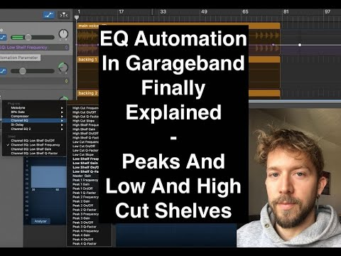How To Automate EQ in Garageband (Part 2)