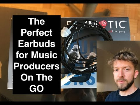 Etymotic ER3SE's - The Best Earbuds For Music Production