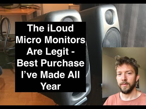 iLoud Micro Monitors – The Best Portable Speakers For Music Production