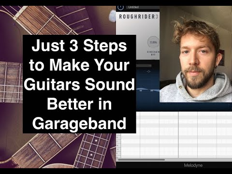How to Make Guitars Sound Better in Garageband