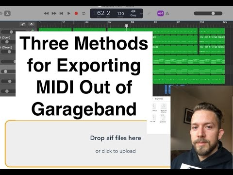 How to Export MIDi from Garageband