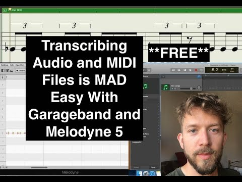How To Transcribe Music In Garageband (Audio And MIDI)