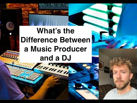 What's The Difference Between a Music Producer and a DJ