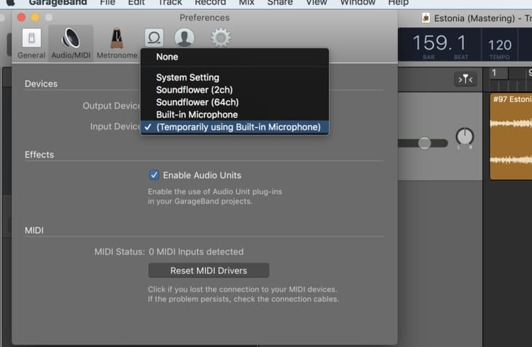 Solution #1 (Audio-MIDI (2)) Formatted Latency