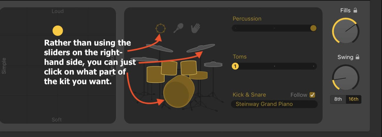 Clickable Drummer Track (Edited)