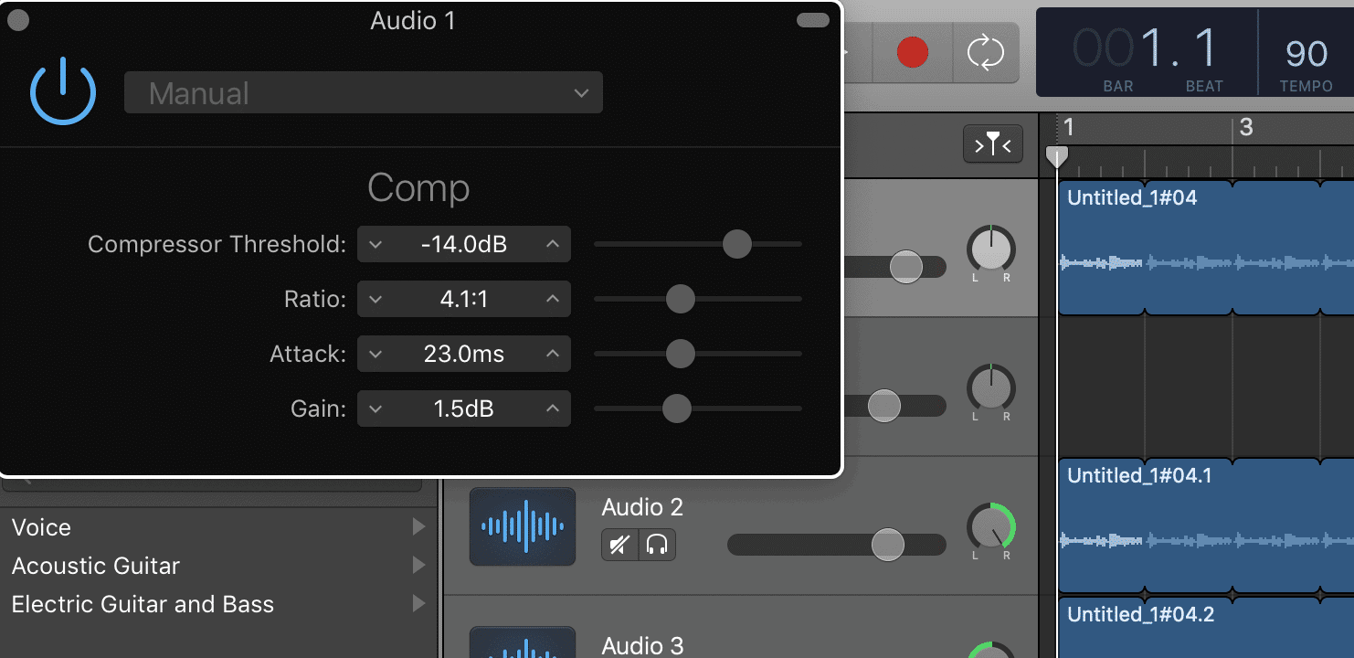 Compressor Settings Auto-Tune