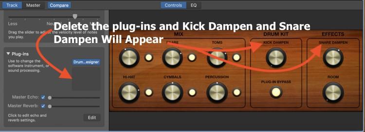 Drummer Track Dampen Kick and Dampen Snare (Edited)