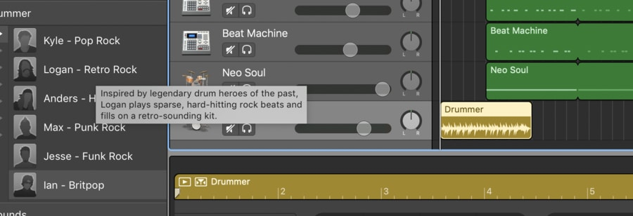 Drummer Track Description (Edited)