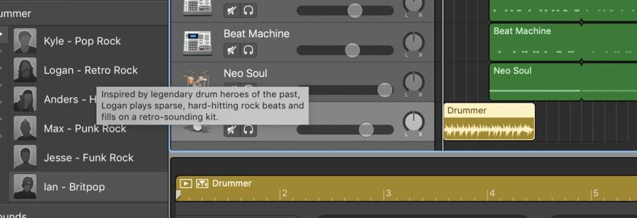 Drummer Track Description (Edited)