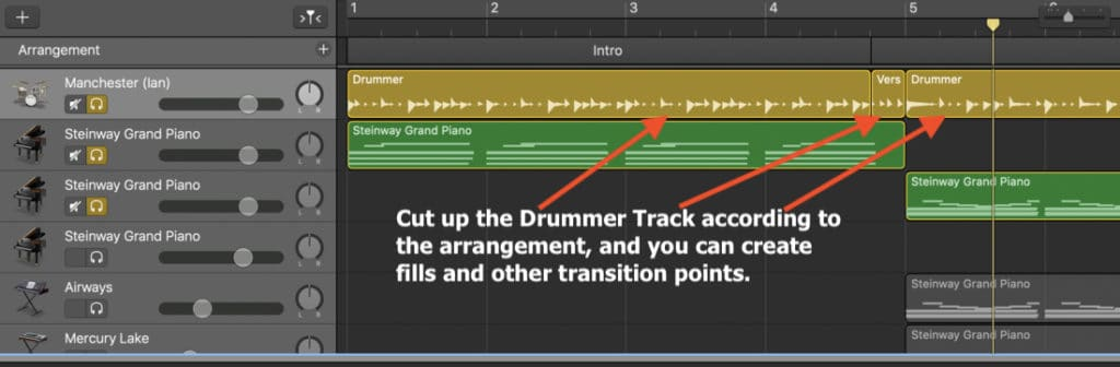 Drummer Track - Cuts For Fills (Edited)