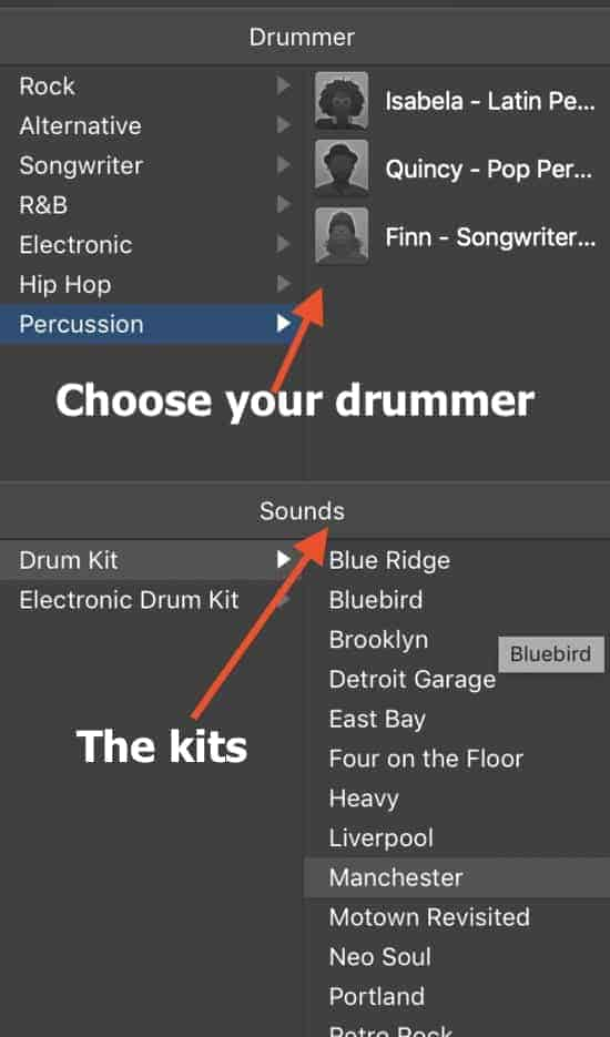 Drummer Track and Sounds (Edited)