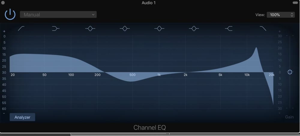 EQ Settings (1) Auto-Tune and Garageband