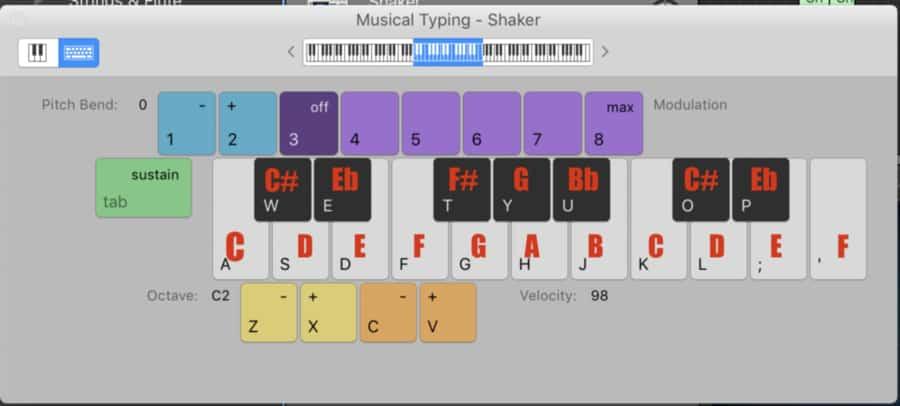 Notes of Keyboard Beats (Edited)