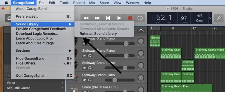 Sound Library (1) Drummer Track