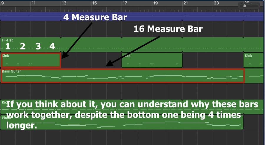Drummer Track Measures
