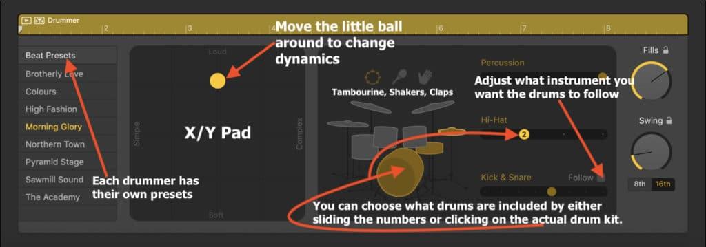 X:Y Pad Drummer Track (Edited)