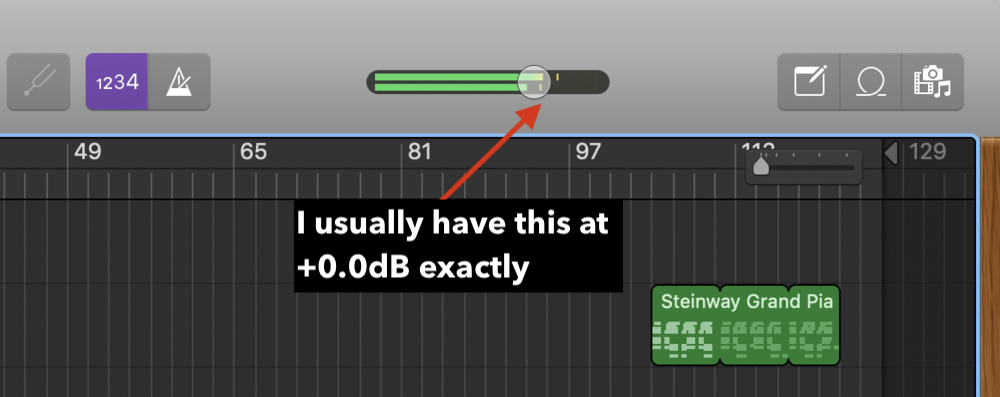 2 Master Volume Slider (Edited) How To Master A Song In Garageband