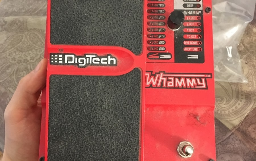 Digitech Whammy Pedal Products (Edited)