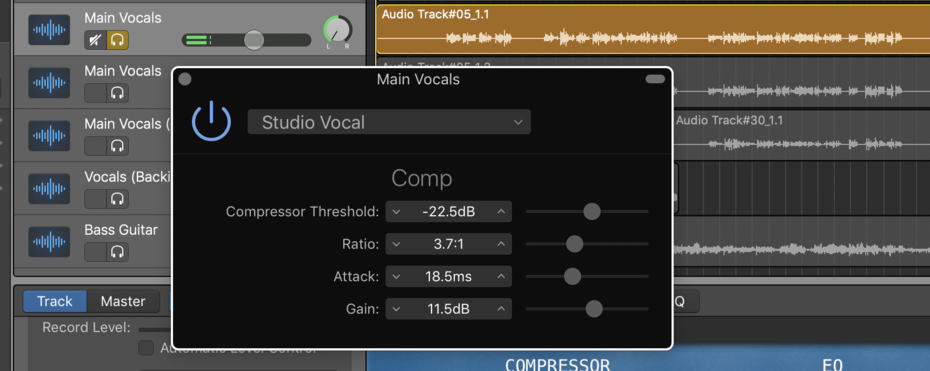3 Studio Vocal Mix Vocals (Edited)