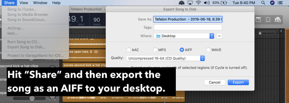 5-Export-as-AIFF-Quiet-edit