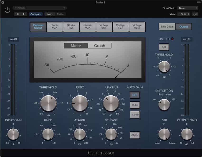 1-Logic-Compressor-Edited-can you use garageband professionally