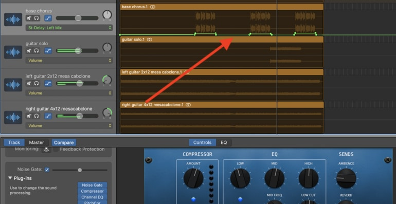 10-Stereo-Delay-Automation in Garageband-Left-Edited