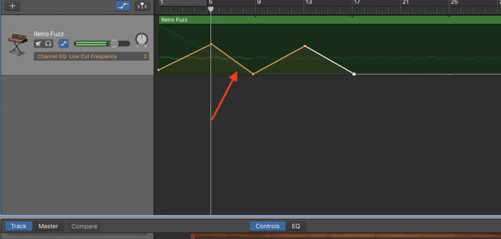 15-Automation in Garageband -EQ-Edited