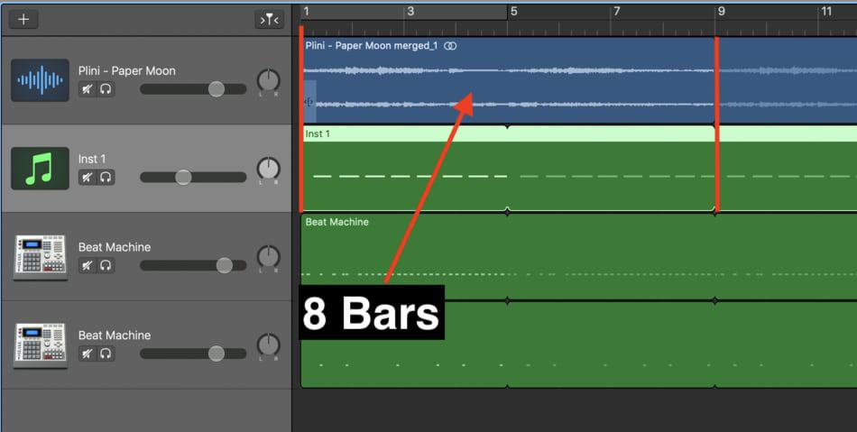 Sample - Backing Tracks with Garageband