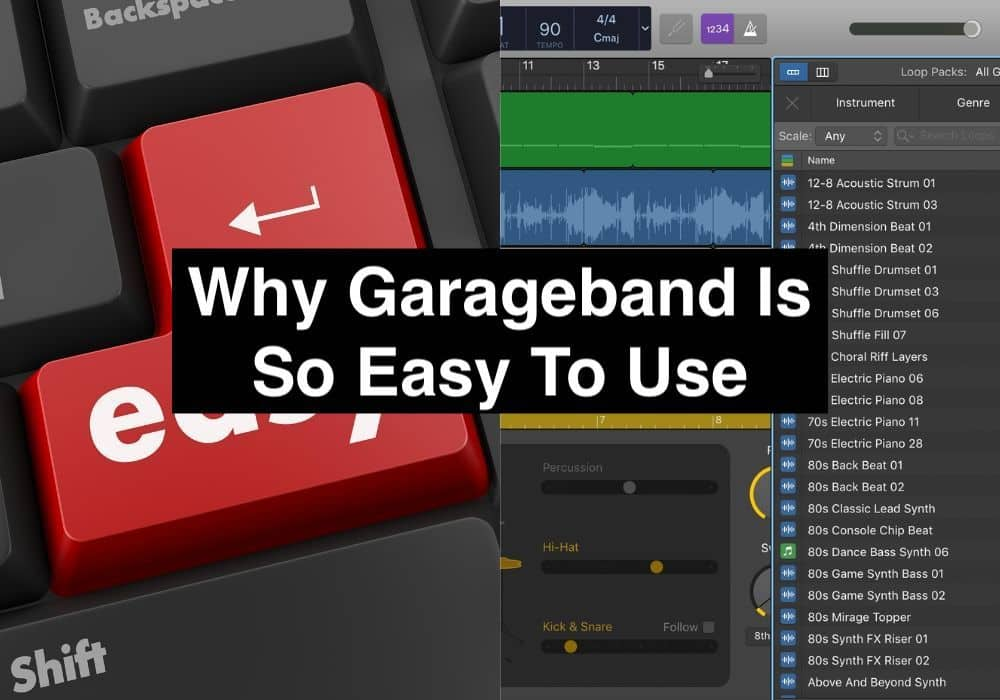 Why Garageband Is So Easy To Use