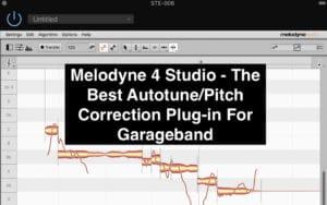 Melodyne 4 Studio - The Best Autotune Plug-In For Garageband