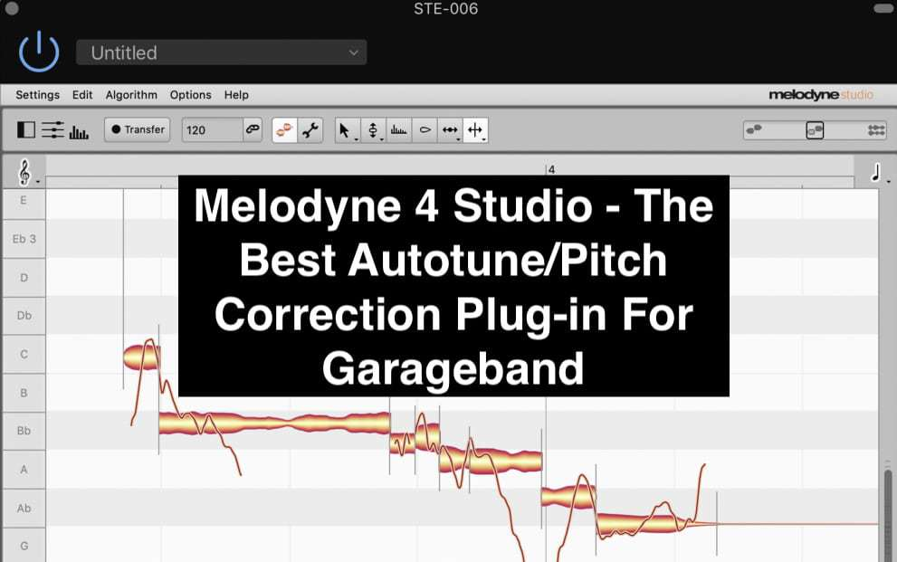 Melodyne 4 Studio - The Best Autotune Plug-In For Garageband