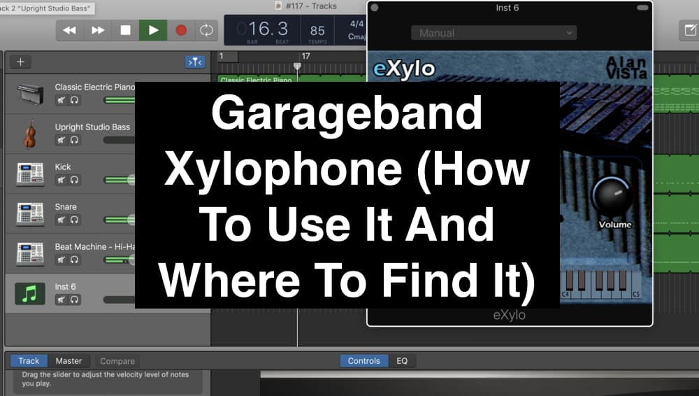 Garageband Xylophone (How To Use It And Where To Find It) (Edited)