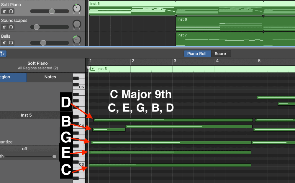 C Major 9th - Aesthetic Tutorial